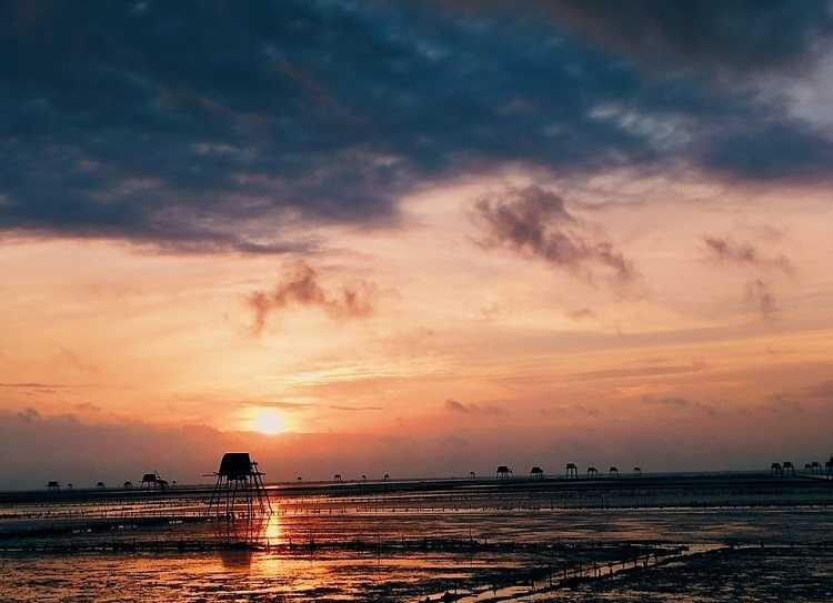 Bãi biển Đồng Châu Thái Bình - Sự mê hoặc từ thiên nhiên
