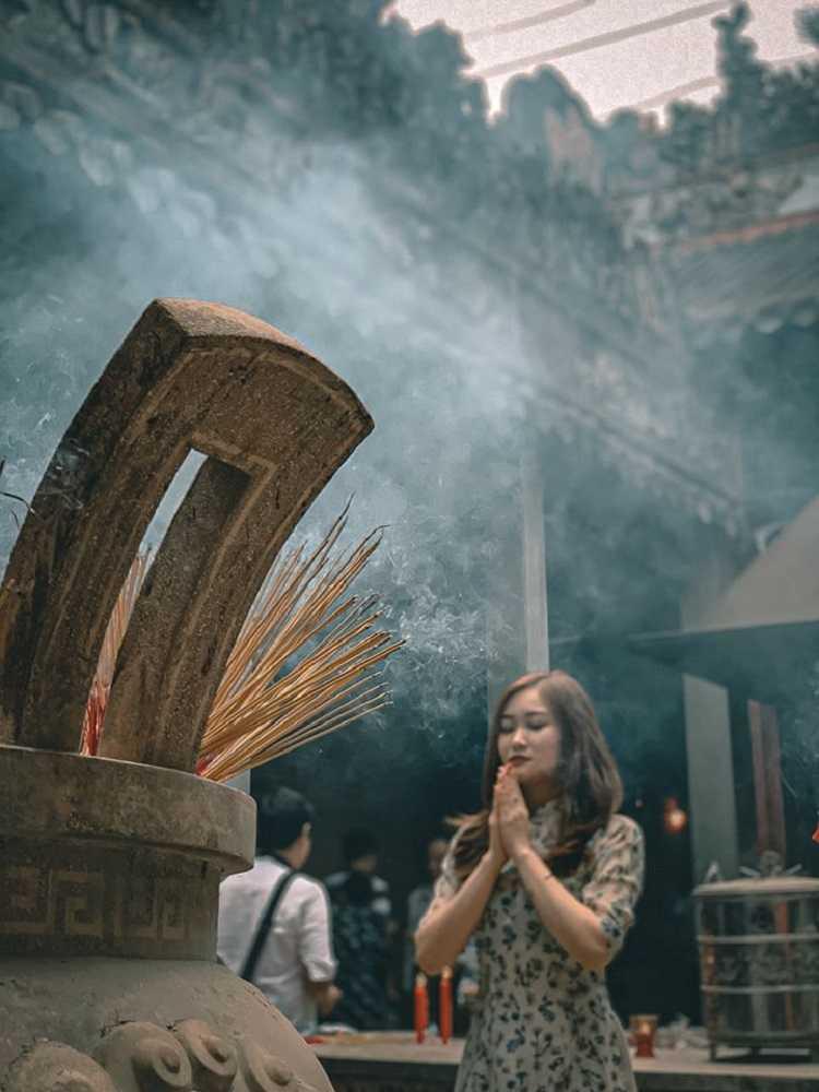 Chùa Bà Thiên Hậu, chốn tâm linh cho nhiều góc ảnh đẹp