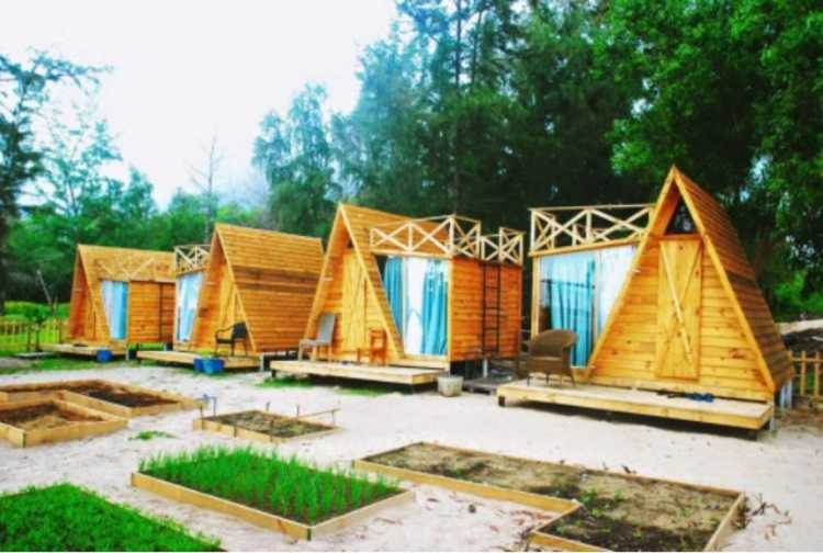 Khu Làng Mộc – Rustic Village
