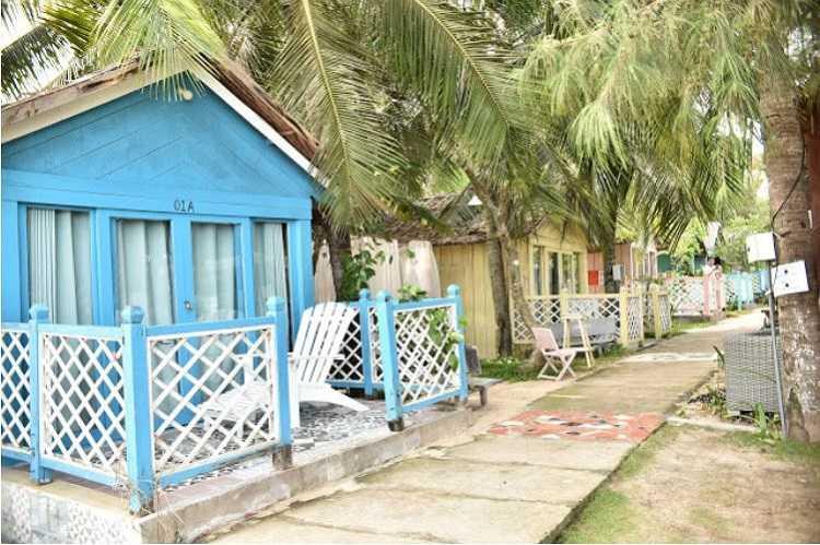 Bugalow Garden view Beach Hut A