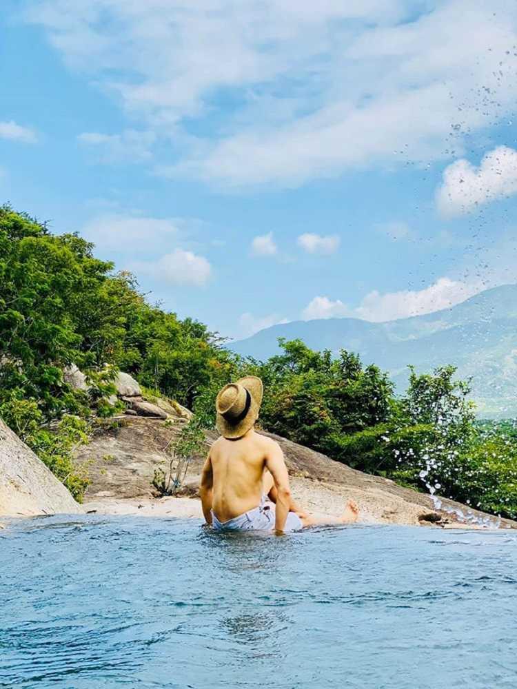 Tuyệt tình cốc Ninh Thuận, tuyệt cảnh suối tiên thác ba Hồ