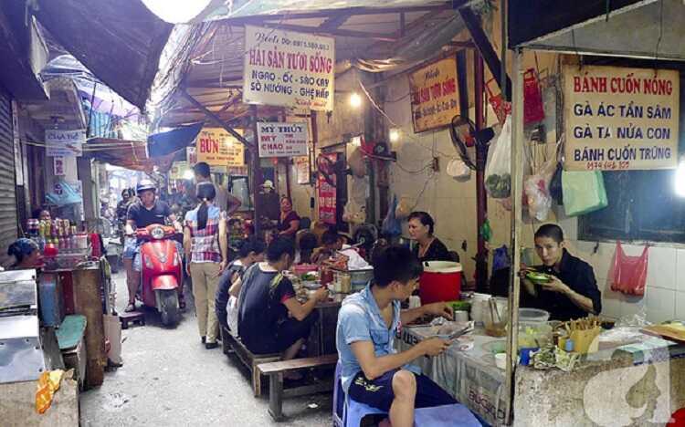 Ẩm thực chợ Đồng Xuân