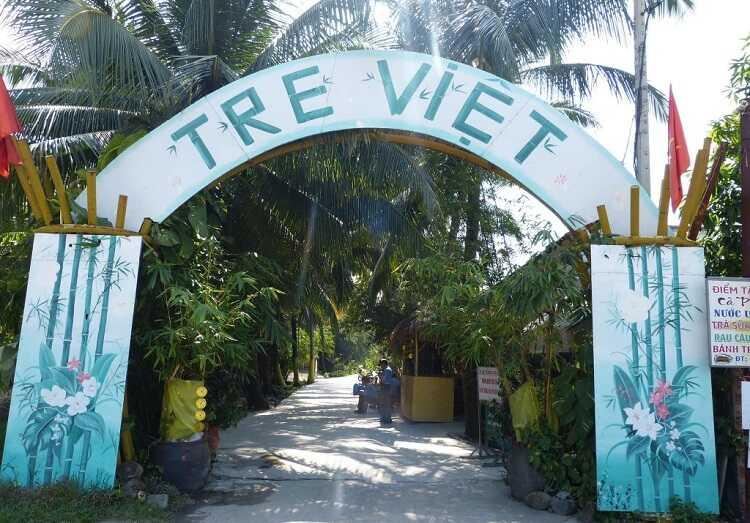 Làng du lịch Tre Việt, điểm du lịch cuối tuần nóng bỏng của Đồng Nai