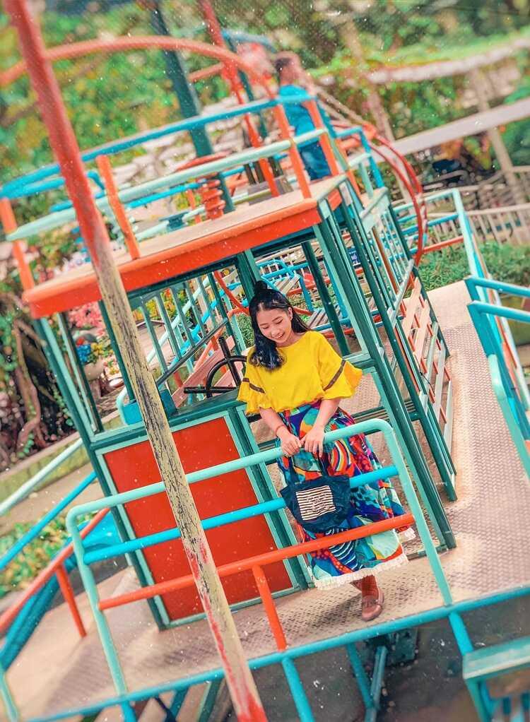 Công viên cát Quận 4, thiên đường vui chơi chụp hình cho bé