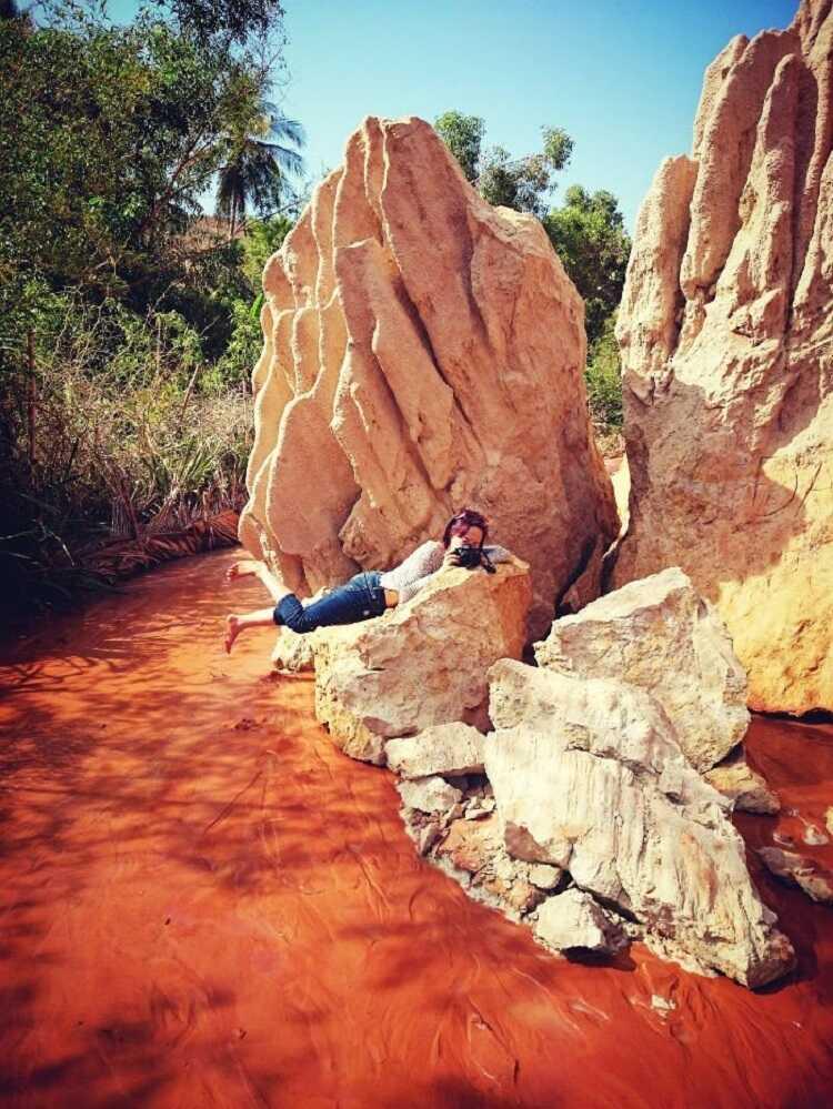 Những cột cát đẹp tuyệt vời