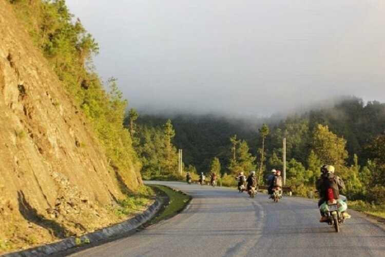 đường đi Đảo Cò Chi Lăng Nam