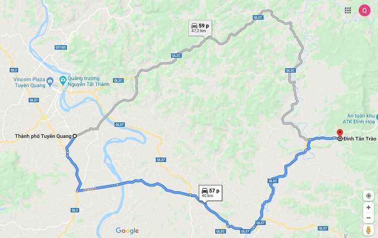 Chiến khu Tân Trào - Khu di tích lịch sử Tân Trào nằm ở đâu?