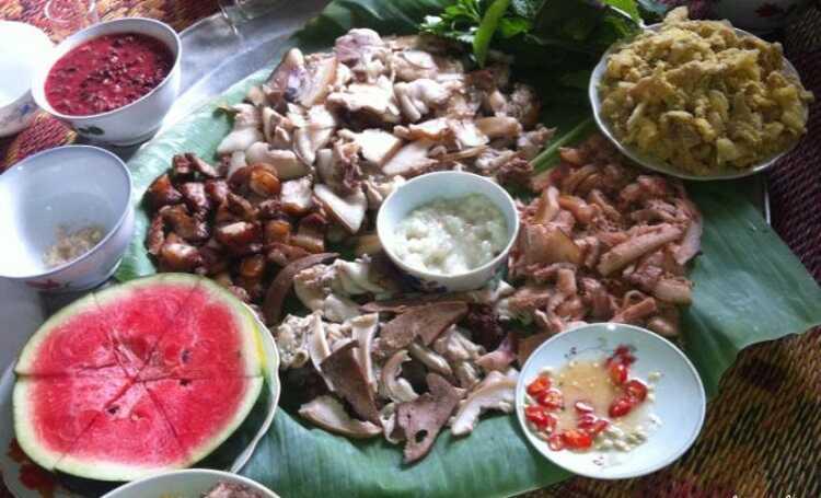 Thịt nộm nâu Thanh Sơn