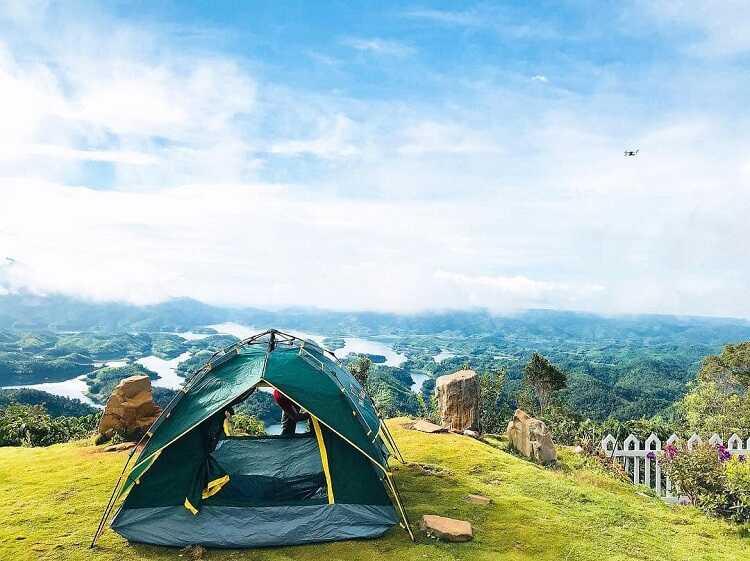 Cắm trại Hồ Tà Đùng, tổ chức tiệc BBQ giữa rừng thiên nhiên