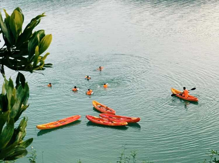 Hồ Thác Bà, khu du lịch sinh thái với hồ nước nhân tạo của Yên Bái