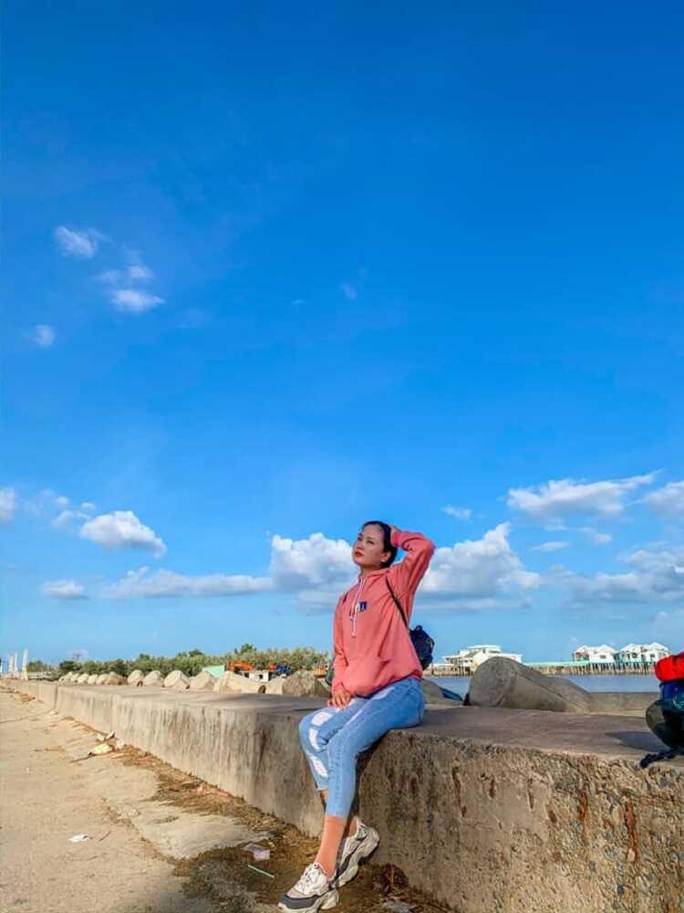 Hóng gió Biển Bạc Liêu và ăn hải sản