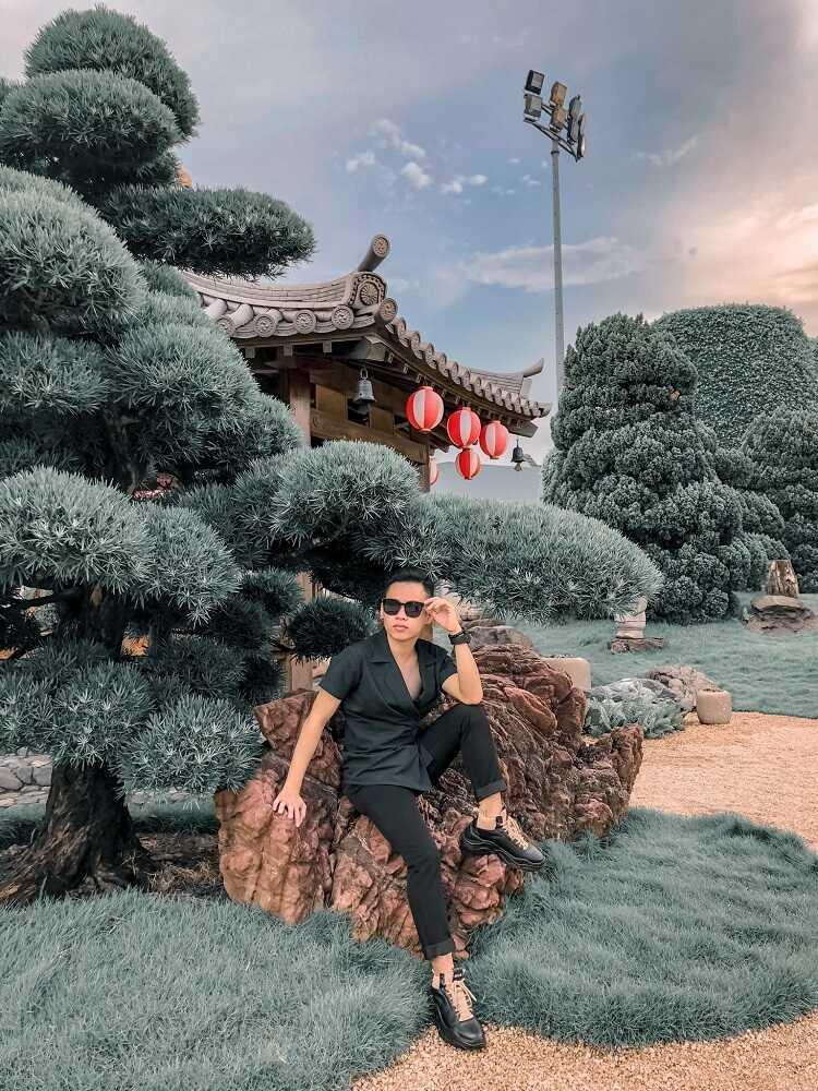 Công viên cá Koi Rin Rin Park, check in sống ảo phong cách Nhật