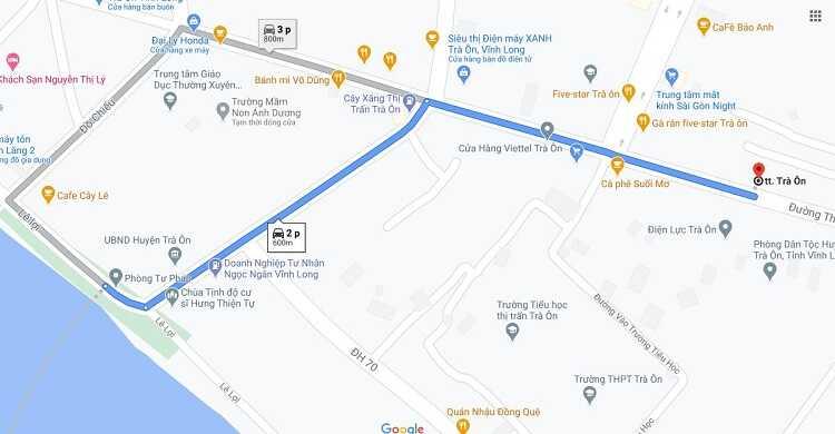 Đường đi và phương tiện di chuyển đến Chợ nổi Trà Ôn ở Vĩnh Long