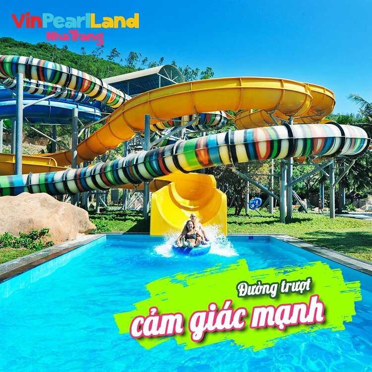 Khu công viên nước tại Vinpearl Nha Trang (VinWonders)