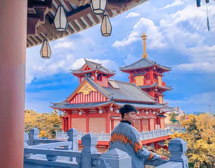 Tu Viện Khánh An Quận 12 nơi mà chụp hình theo phong cách Nhật Bản tại Việt Nam