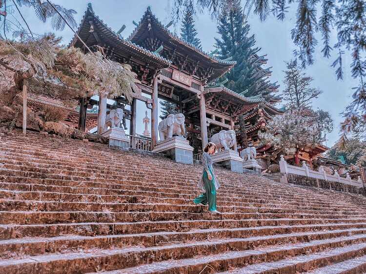 Check in chùa Minh Thành Gia Lai, ngôi chùa của tâm linh và sống ảo